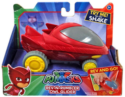 Disney Junior PJ Masks Rev-N-Rumbler Owl Glider Vehicle