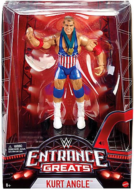 WWE Wrestling Entrance Greats Kurt Angle Action Figure [Damaged Package]