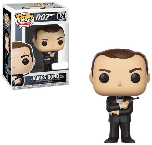 Funko 007 POP! Movies James Bond Exclusive Vinyl Figure #524 [Sean Connery, Dr. No]