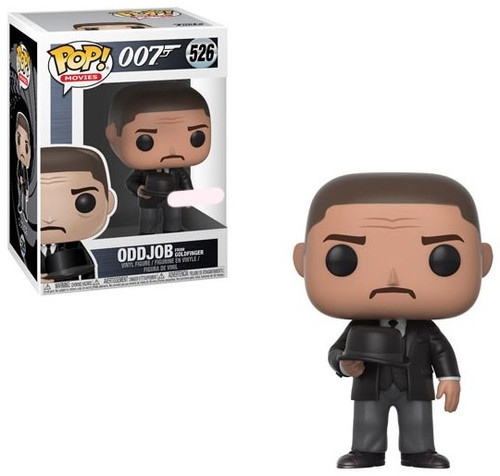 Funko James Bond 007 POP! Movies Oddjob Exclusive Vinyl Figure #526 [Holding Hat, Goldfinger]