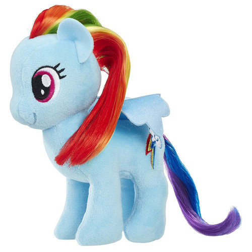 My Little Pony Friendship is Magic Small Hair Rainbow Dash Plush