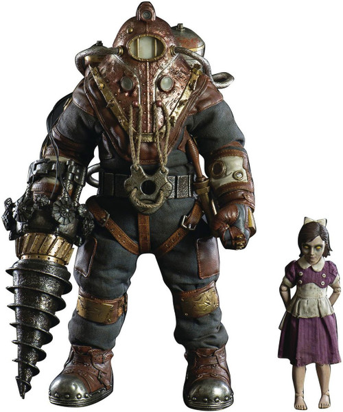 Bioshock 2 Subject Delta & Little Sister Action Figure