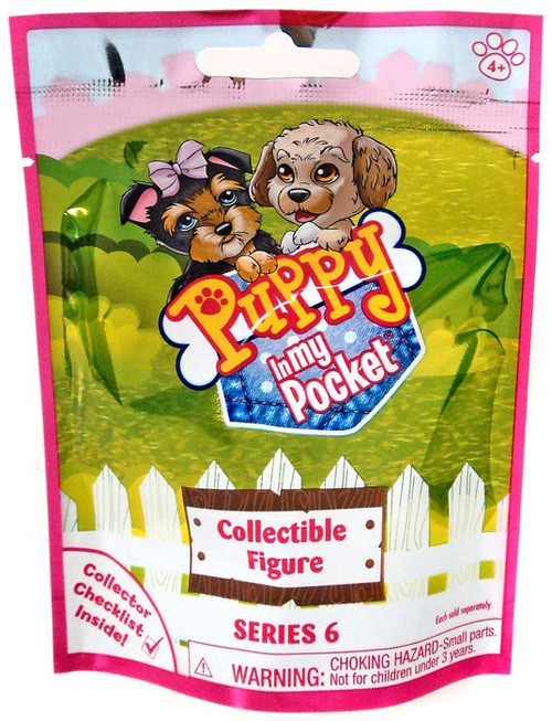 Series 6 Puppy in my Pocket Mystery Pack