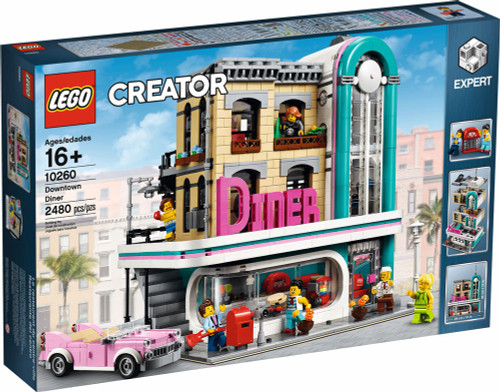 LEGO Creator Downtown Diner Set #10260
