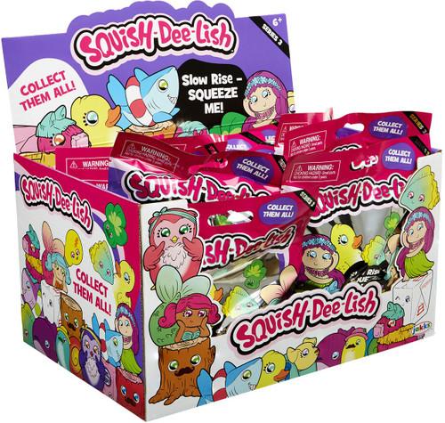 Squish-Dee-Lish Series 3 Mystery Box [12 Packs]