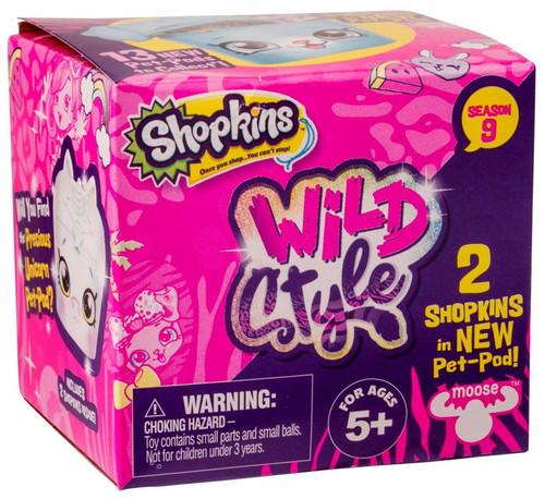 Shopkins Season 9 Wild Style Mystery 2-Pack