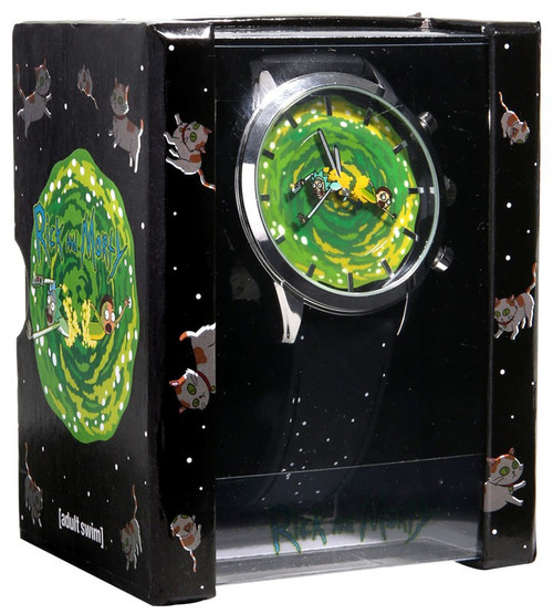 Rick & Morty Rotating Portal Watch