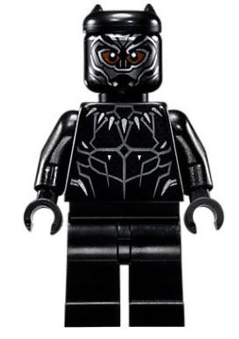 LEGO Marvel Black Panther Movie Black Panther Minifigure [76100 Loose]