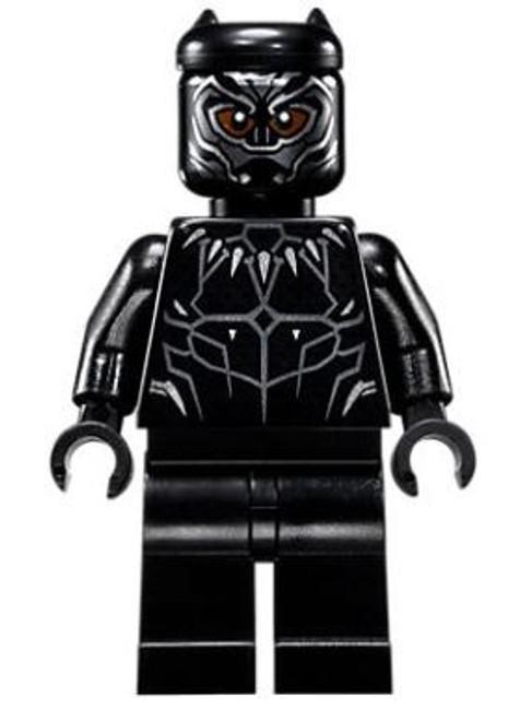 LEGO Marvel Black Panther Movie Black Panther Minifigure [76100 Loose]