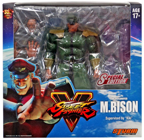 Street Fighter V M. Bison Exclusive Action Figure [Green Costume]