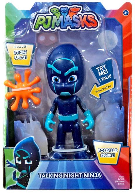 Disney Junior PJ Masks Night Ninja Talking Action Figure [with Sticky Splat]