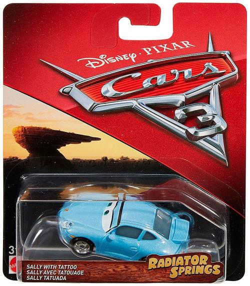 Disney / Pixar Cars 3 Radiator Springs Classic Sally with Tattoo Diecast Car