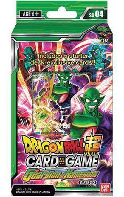 Dragon Ball Super Collectible Card Game Series 4 Guardian of Namekian Starter Deck DBS-SD04 [Green]