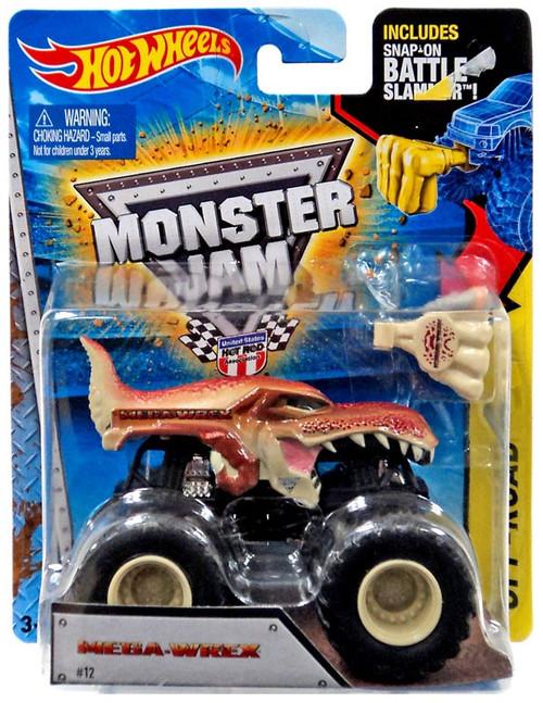 Hot Wheels Monster Jam 25 Mega-Wrex Die-Cast Car #12 [Off-Road]