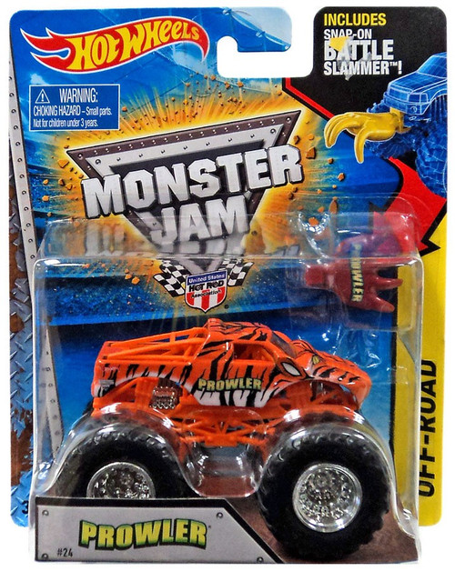 Hot Wheels Monster Jam 25 Prowler Die-Cast Car #24 [Off-Road]