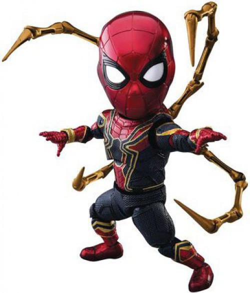Marvel Avengers Infinity War Egg Attack Iron Spider-Man Action Figure EAA-060
