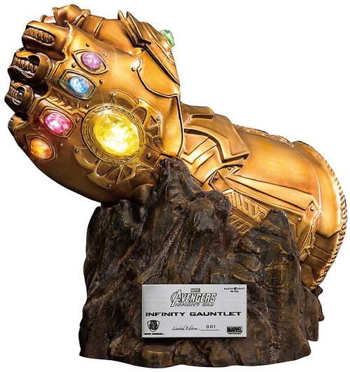 Marvel Avengers Infinity War Infinity Gauntlet Exclusive 15-Inch Replica LED Statue MC-004