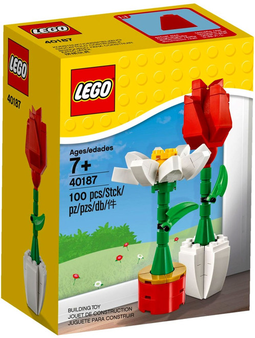LEGO Flower Display Set #40187