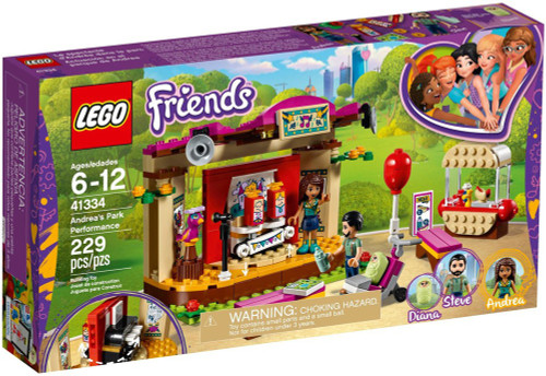 LEGO Friends Andrea's Park Performance Set #41334