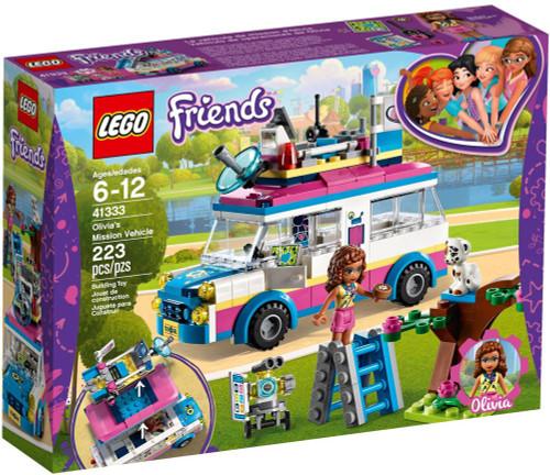 LEGO Friends Olivia's Mission Vehicle Set #41333