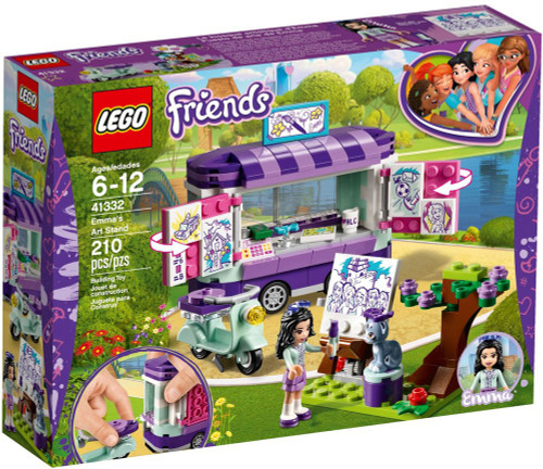 LEGO Friends Emma's Art Stand Set #41332