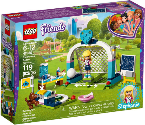 LEGO Friends Stephanie's Soccer Practice Set #41330