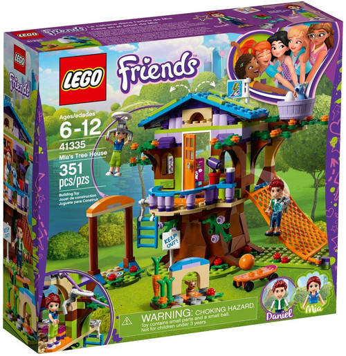 LEGO Friends Mia's Tree House Set #41335
