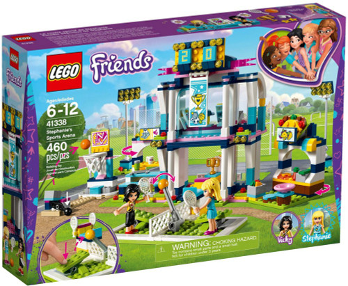 LEGO Friends Stephanie's Sports Arena Set #41338