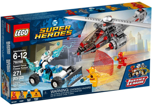 LEGO DC Super Heroes Speed Force Freeze Pursuit Set #76098