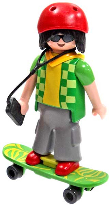 Playmobil Fi?ures Series 7 Skater Minifigure [Loose]