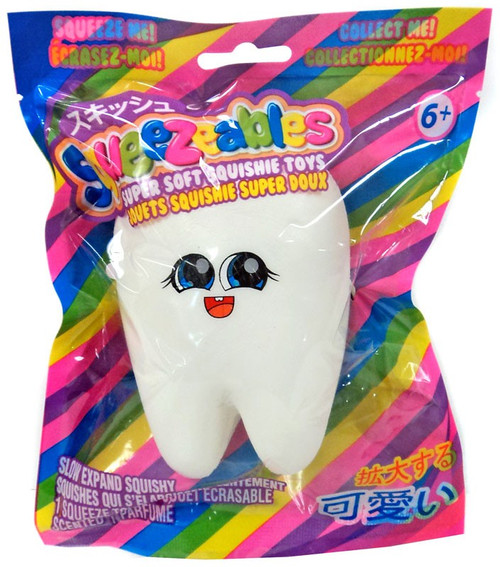 Squeezeables Tooth Squeeze Toy