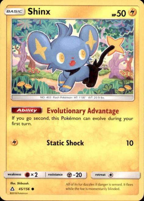 Pokemon Sun & Moon Ultra Prism Common Shinx #45