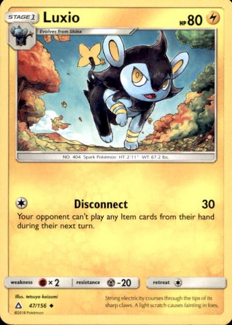 Pokemon Sun & Moon Ultra Prism Uncommon Luxio #47