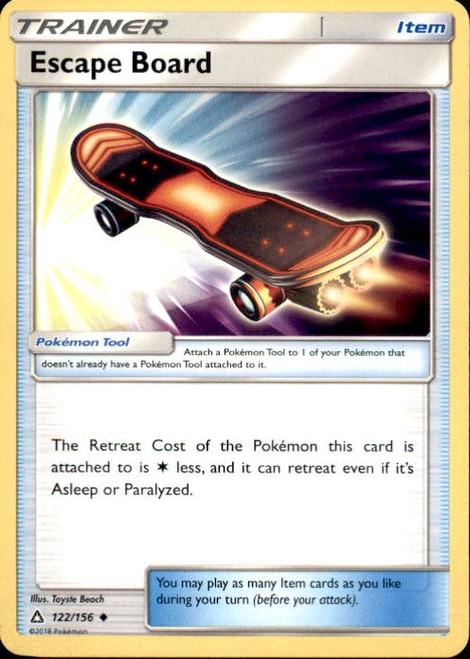 Pokemon Sun & Moon Ultra Prism Uncommon Escape Board #122