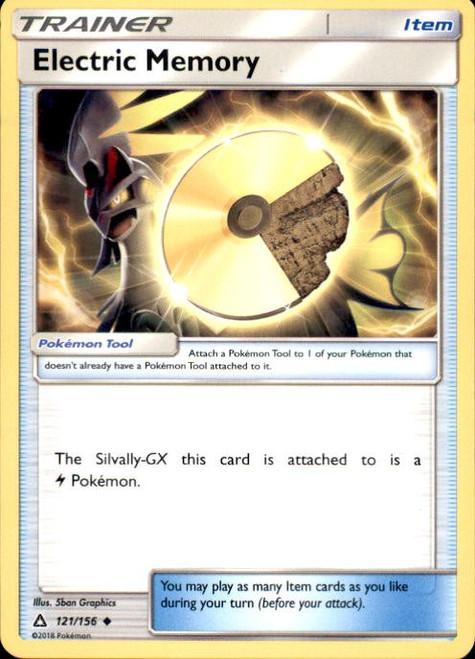 Pokemon Sun & Moon Ultra Prism Uncommon Electric Memory #121