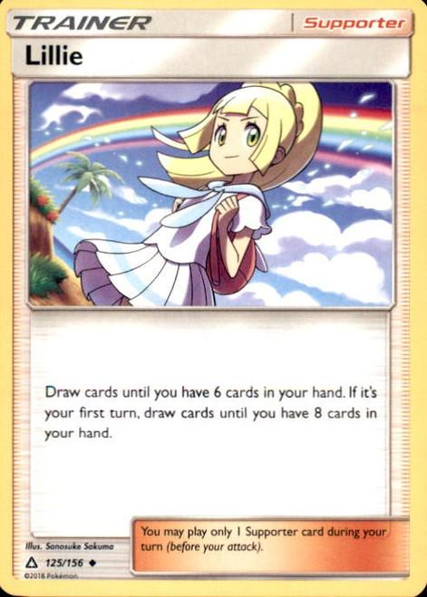 Pokemon Sun & Moon Ultra Prism Uncommon Lillie #125