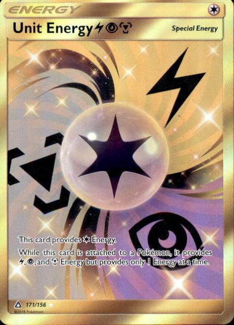 Pokemon Sun & Moon Ultra Prism Secret Rare Unit Energy LPM #171