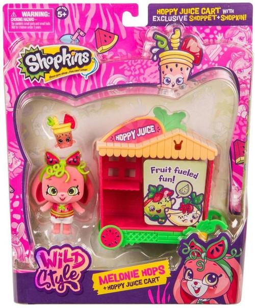 Shopkins Season 9 Wild Style Melonie Hops & Hoppy Juice Cart Theme Pack