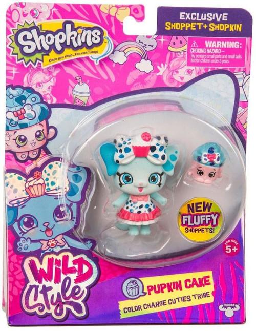 Shopkins Shoppets Season 9 Wild Style Pupkin Cake Doll Figure [Color Change Cuties Tribe]