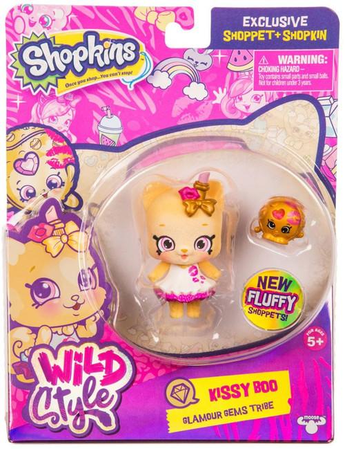 Shopkins Shoppets Season 9 Wild Style Kissy Boo Doll Figure