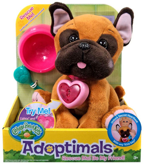 Cabbage Patch Kids Adoptimals French Bulldog 9-Inch Plush
