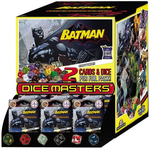 DC Dice Masters Batman Dicemasters Gravity Feed Booster Box