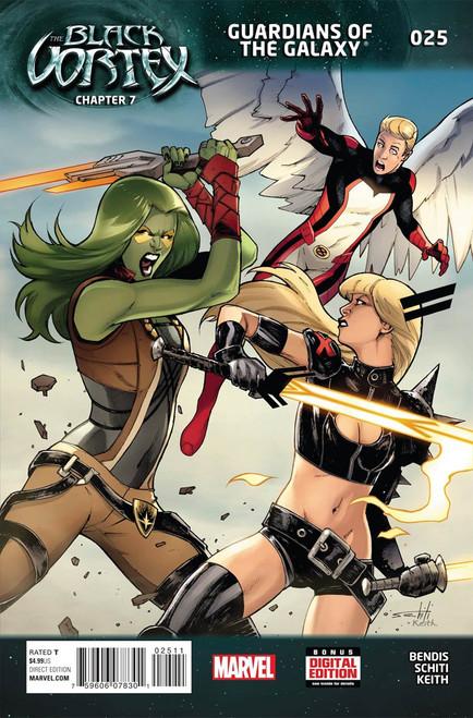 Marvel Comics The Black Vortex #25 Guardians of the Galaxy Comic Book