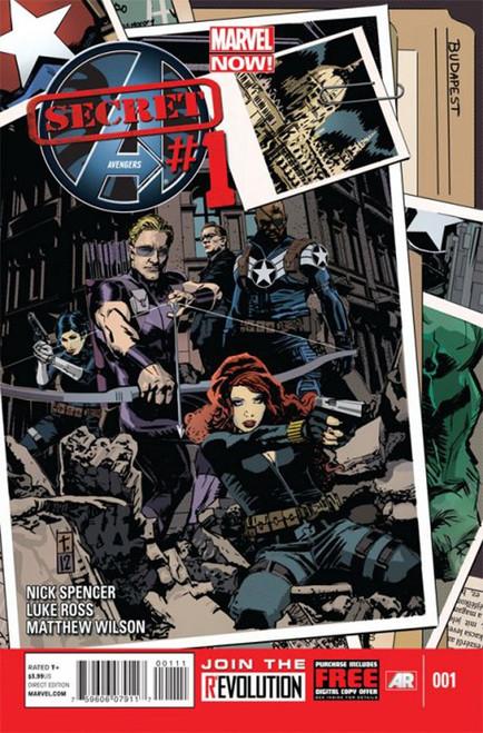 Marvel Secret Avengers #1 Comic Book