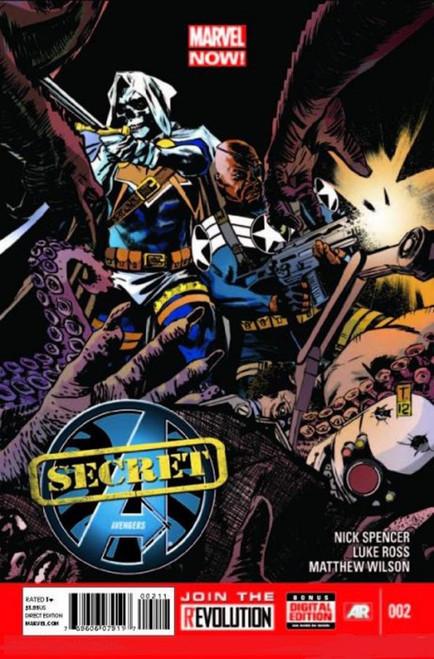 Marvel Secret Avengers #2 Comic Book