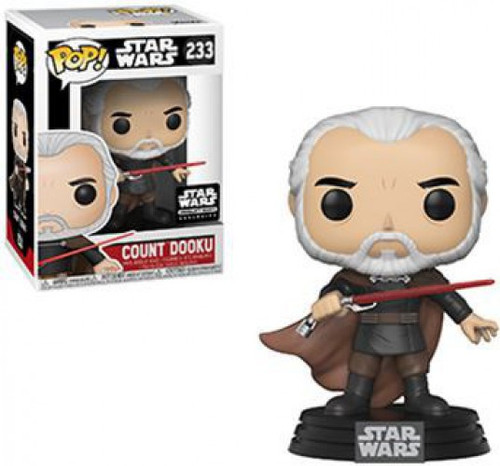 Funko POP! Star Wars Count Dooku Exclusive Vinyl Bobble Head #233 [Sith Box]