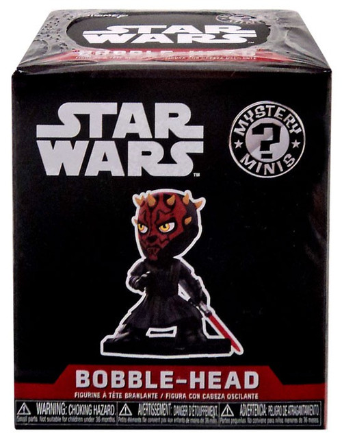 Funko Star Wars The Last Jedi Mystery Minis Darth Maul Exclusive Mystery Pack [1 RANDOM Figure]