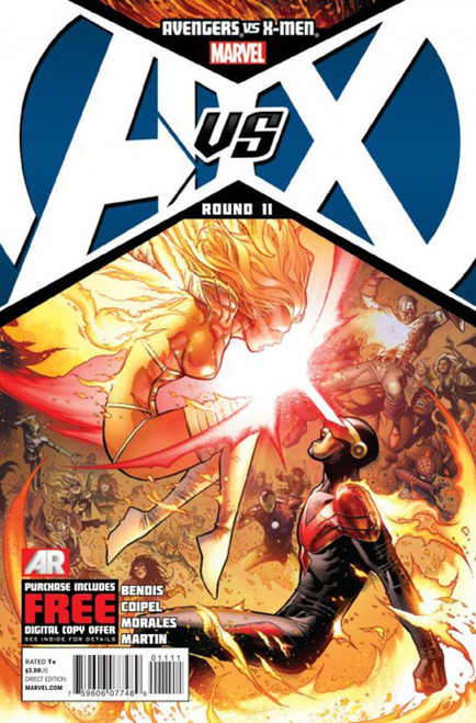 Marvel Avengers vs X-Men Round 11 Comic Book