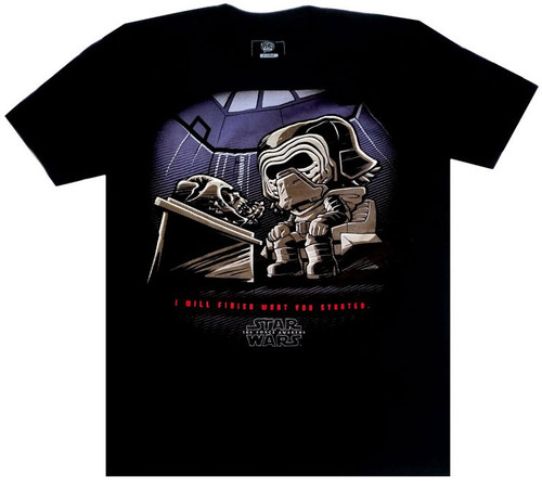 Funko Star Wars Kylo Ren with Vader's mask Exclusive T-Shirt [X-Large, Sith Box]