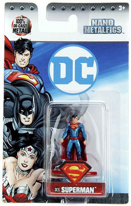 DC Nano Metalfigs Superman 1.5-Inch Diecast Figure DC15 [DC15]